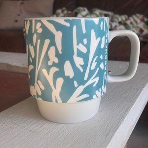 Teal Starbucks Mug